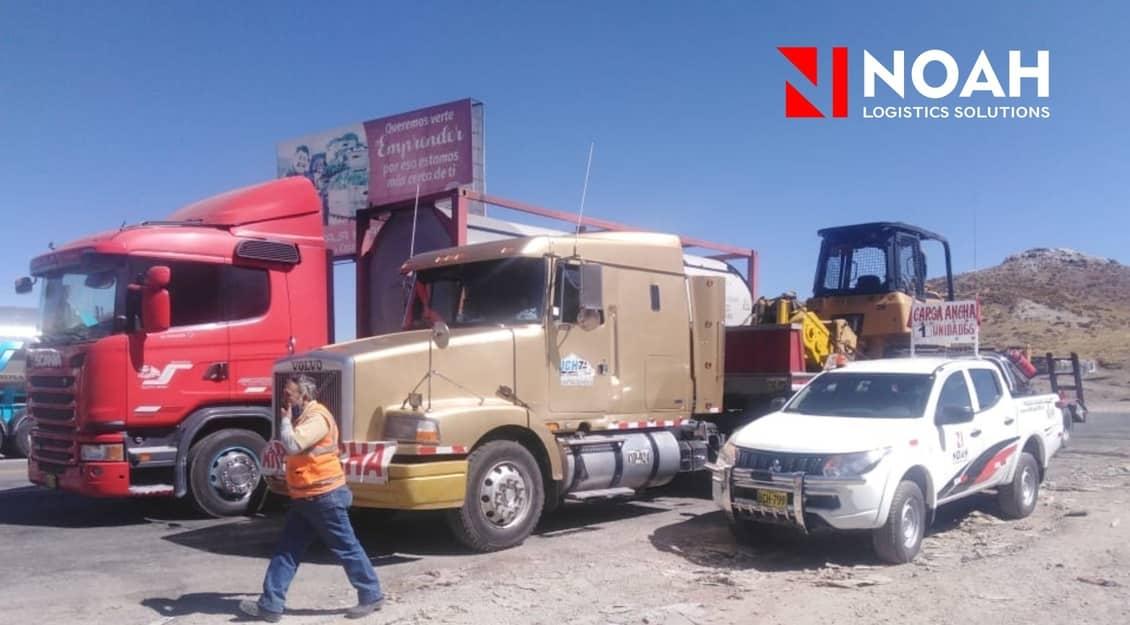 Tres tips de transporte de carga de Noah Logistica